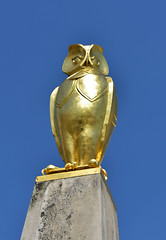 The Golden Owl (Andrew-Jackson) Tags: owl yorkshire cityscape leeds gold statue