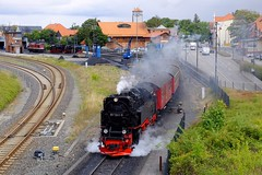 Brocken Bound (H-bob-omb) Tags: harz narrow gauge railway schmalspurbahnen harzer hsb steam 2102t class 99 7241 wernigerode germany