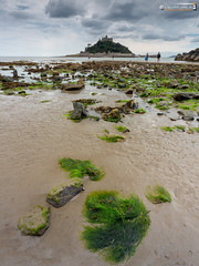 St. Michael's Mount (dieLeuchtturms) Tags: gezeiten ärmelkanal grosbritannien meer europa 3x4 atlantik stmichael'smount strand cornwall england ebbe englishchannel europe greatbritain beach lowtide sea tides marazion vereinigteskönigreich gb