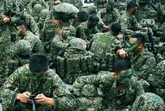 Putrajaya, Malaysia. (Chot Touch) Tags: army soldier green colors putrajaya kualalumpur malaysia malaysiastreetphotographer streetphotography merdeka merdekaparade kemerdekaan