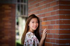 臺北藝術大學外拍 (迷惘的人生) Tags: canon 5d3 5dⅲ 臺北藝術大學 外拍 人像 135l 135mm