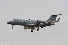 Phoenix Air (lee adcock) Tags: dsa gulfstream n163pa nikond500 phoenixair runway02 nikon70200f28vri