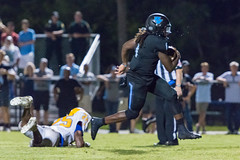 """PVHS v. Palatka-321 (mark.calvin33) Tags: football field sport ball """"high school"""" """"ponte vedra high pvhs block tackle rush run pass catch receiver blocker """"running quarterback fumble completion reception hike pitch snap """"friday night lights"""" fans stands kick """"end zone"""" """"nikon 2018 win athletics athletes """"night photography"""" """"sharks football"""" back d7100"""
