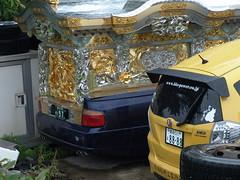 A hearse (しまむー) Tags: sony cybershot dscf828 f828 carl zeiss variosonnar t 751mm 28200mm f228 walk mutsu rain rainy