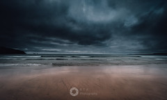 There's a Storm Coming (RTA Photography) Tags: newquay cornwall southwest sky clouds weather storm atlantic sea ocean seascape nikon d750 nikonuk outdoors nature beach sand wave rtaphotography mer naturephotography