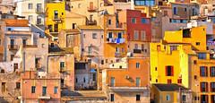 sciacca patchwork (poludziber1) Tags: skyline summer city colorful color sicily sicilia sciacca italy italia