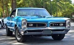 1966 Pontiac GTO (Custom_Cab) Tags: 1966 pontiac gto sport coupe 2door 2 door hardtop blue car lemans