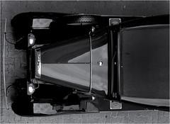 Model A (Finepixtrix) Tags: ford modela 1931 car automobile vintage sony rx10 cybershot bridgecamera johannesburg bw mono monochrome blackandwhite above