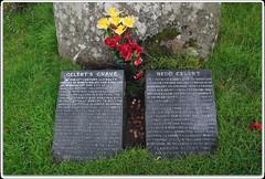 Gelert's Grave (zweiblumen) Tags: gelertsgrave beddgelert gwynedd wales cymru uk myth legend history monument canoneos50d polariser zweiblumen