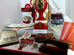 Anfield Memorabilia, Liverpool, England (teresue) Tags: 2017 uk unitedkingdom greatbritain england merseyside liverpool anfield soccer football lfc liverpoolfootballclub
