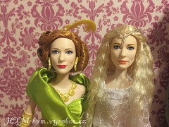 OOAK Galadriel doll (wildxwoman) Tags: galadriel lord rings hobbit cate blanchett lady tremaine cinderella mattel