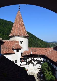 Castillo de Bran (Transilvania, Rumanía, 18-8-2018)