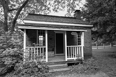 Law Office Judge Overton at Travellers Rest II (rschnaible (On Holiday)) Tags: travellers rest plantation nashville tn tennessee the south building architecture historical history circa 1799 bw black white photography monotone school 1860s work production farm farming