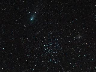 Comet 21P/Giacobini–Zinner and Messier 35