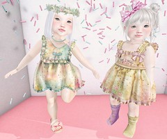 L.O.T.D. 09.14.18 (Emery/Teagan Parker) Tags: sodapopshop bebebody toddleedoofitted td secondlife sl baby cute sprinkles adorable