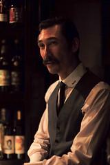 Rogerio Igarashi Vaz, Trench, Tokyo, Japan (Plan R) Tags: bartender bar cocktail leica m 240 noctilux 50mm