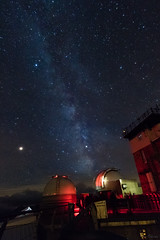Observatoire (Okeur) Tags: sky voielactée astronomie 760d picdumidi astro