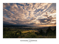 Zalew Czorsztyński widok z Góry Wdżar (smoothna) Tags: zalewczorsztyński landscape mountains d90 smoothna sigma1020mm sunset summer skyporn clouds warm