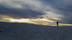 White Sands, NM, USA (rociomcoss) Tags: new newmexicotrue newmexico nature nm sunset southwest sand gypsum landscape usa desert dusk horizon