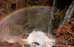 Over the rainbow (thierry_meunier) Tags: afrique azilal hautatlas highatlas maroc morocco ouzoud arcenciel campagne cascades chutes falls femme homme landscape man monkey nature rainbow singe travel voyage water woman