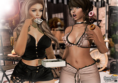 I AM CRAZY ABOUT DONUTS IN ANY FORM (PiRaTin 68) Tags: lelutka catwa candydoll {lefilcasse} argrace stealthic revoul maitreya tentacio adorsy