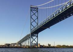 Ambassador Bridge (mgsmith) Tags: detroitriver sail detroithistorytours water tallships detroit sailboat