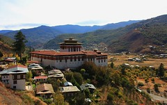 Fortress of Paro Rinpung (5) (ailognom2005) Tags: fortress fortressofparo bhutan oldbuildings dzong rinpung religion bhuddism rinpungdzong