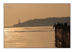 Brest, port de commerce 2018 - La partie de pêche (porte-plume) Tags: brest port