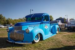 Chevrolet Pick up 1946 (christopherread490) Tags: croxleygreen england unitedkingdom chevrolet pick up 1946 blue hot rod low custom