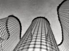 (felipe bosolito) Tags: iphone snapseed blackandwhite curved rhythm minimalism abstract curtain
