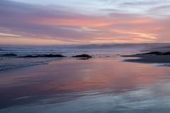 Setting sun Brighton Beach (atrewern) Tags: sunset sea sky bay waves beach coast dusk sand