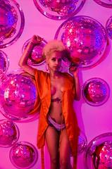 Retro Lucid Dreams (Incognito Media) Tags: model modeling portrait teen nikon retro island blonde robe lingerie sexy neon incognitomedia