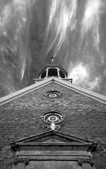 Vapeur spirituelle (mcastonguay60) Tags: boucherville saintefamille monochrome église québec canada