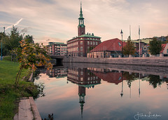 Calmness (Fredrik Lindedal) Tags: sweden sverige gothenburg göteborg reflection calmness morning city cityscape cityview fredriklindedal visitsweden