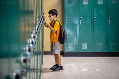 First Day of School (Phil Roeder) Tags: desmoines iowa desmoinespublicschools school education students meredithmiddleschool canon6d canonef24105mmf4lisusm