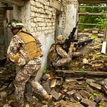 """Mācībās """"Namejs 2018"""" Zemessardzes 52. kaujas atbalsta bataljons veic pretinieka aizkavēšanu thumbnail"""