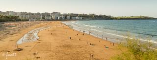 Segunda playa de El Sardinero