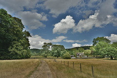 Countryside Path (Bri_J) Tags: stanageedge peakdistrict nationalpark hathersage derbyshire uk hdr countryside nikon d7200 sky clouds path