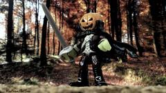 Legend of Sleepy Hollow (WesternOutlaw) Tags: imaginext halloween halloweentoys sleepyhollow headlesshorseman washingtonirving gothichorror hessian tarrytown pumpkinhead pumpkin horrortoys