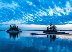 Phantom (Me in ME) Tags: harpswell lookoutpoint maine sunset boat bluehour ghost phantom dusk