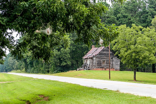 Fading farm home - McCormick, S.C.