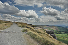 Stanage Edge Path (Bri_J) Tags: stanageedge peakdistrict nationalpark hathersage derbyshire uk hills countryside nikon d7200 hdr clouds sky