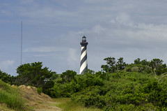 Today and Yesterday (rschnaible) Tags: cape hatteras lighthouse north carolina landscape outdoor obx outer banks the south work transportation building architecture history historical national seashore
