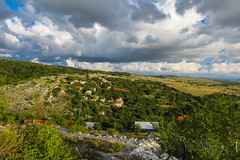 Podveležje, Bosnia and Herzegovina (HimzoIsić) Tags: landscape countryside rural village outdoor mountain mountainside hill grassland grass sky clouds