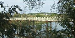 Passerelle sur la Meurthe (MAPNANCY) Tags: passerelle rivière