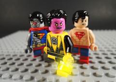 Sinestro Corps War (-Metarix-) Tags: lego superman minifig dc comics comic sinestro corps war cyborg prime time yellow lantern antimonitor green villains universe pre new 52 rebirth
