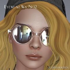 HAYSURIZA_Eyewear_Wa02.pop01 (HAYSURIZA) Tags: glasses sunglasses eyewear secondlife haysuriza accessories elegant golden silver transparent lens 3d object mesh polygon glass crystal megane