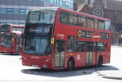 AL T66 @ West Croydon bus station (ianjpoole) Tags: arriva london alexander dennis enviro 400 lj59acy t66 working route 264 st georges hospital tooting broadway park street croydon