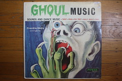 Frankie Stein And His Ghouls - Ghoul Music ( Power Records 1960's ) (Donald Deveau) Tags: record album vinyl lp monsters ghouls frankiestein powerrecords