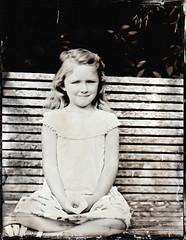 Annabelle (fitzhughfella) Tags: wetplate tintype tinplate collodion silvernitrate ether largeformat 4x5 graflexspeedgraphic kodakaeroektar